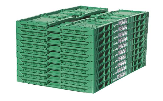 cajas ifco apiladas